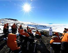 Antarctica-35th Anniversary of Erebus crash. FREE FOR EDITORIAL USE