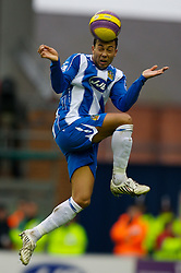 WIGAN, ENGLAND - Sunday, January 20, 2008: Wigan Athletic's Antonio Valencia during the Premiership match at the JJB Stadium. (Photo by David Rawcliffe/Propaganda)