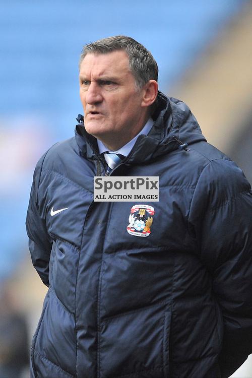 Tony Mowbrey Manager Coventry City, Coventry City, Coventry City v Burton Albion, Ricoh Arena,  Sky Bet League 1, Saturday 16th JJanuary 2016, (Mike Capps/Sportpix)