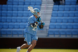 CHAPEL HILL, NC - MARCH 02: Timmy Kelly #15 of the North Carolina Tar Heels during a game against the Denver Pioneers on March 02, 2019 at the UNC Lacrosse and Soccer Stadium in Chapel Hill, North Carolina. Denver won 12-10. (Photo by Peyton Williams/US Lacrosse)