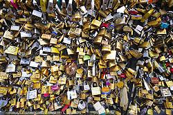 Love locks, Paris, France, December 19, 2012. Photo by Imago / i-Images...UK ONLY