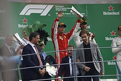 September 2, 2018 - Monza, Italy - Motorsports: FIA Formula One World Championship 2018, Grand Prix of Italy, .#7 Kimi Raikkonen (FIN, Scuderia Ferrari) (Credit Image: © Hoch Zwei via ZUMA Wire)