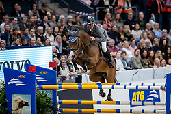BEERBAUM Ludger (GER), Cool Feeling <br /> Göteborg - Gothenburg Horse Show 2019 <br /> Gothenburg Trophy presented by VOLVO - Stechen<br /> Int. jumping competition with jump-off (1.55 m)<br /> Longines FEI Jumping World Cup™ Final and FEI Dressage World Cup™ Final<br /> 06. April 2019<br /> © www.sportfotos-lafrentz.de/Stefan Lafrentz