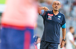 01.08.2017, Allianz Arena, Muenchen, GER, Audi Cup, Atletico Madrid vs SSC Neapel, im Bild Trainer Maurizio Sarri (SSC Napoli) // during the Audi Cup Match between Atletico Madrid and SSC Napoli at the Allianz Arena, Munich, Germany on 2017/08/01. EXPA Pictures © 2017, PhotoCredit: EXPA/ JFK