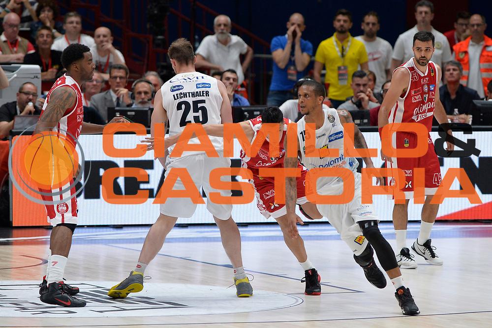 Beto Gomes<br /> Olimpia EA7 Emporio Armani Milano vs Dolomiti Energia Trentino<br /> Lega Basket Serie A 2016/2017<br /> PlayOff semifinale gara 2<br /> Milano 27/05/2017<br /> Foto Ciamillo-Castoria / I.Mancini