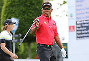 Thongchai JAIDEE during the 4th day of the BMW PGA Championship at Wentworth, Virginia Water, United Kingdom on 24 May 2015. Photo by Ellie  Hoad.
