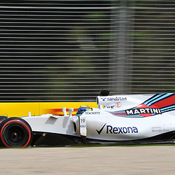 Felipe Massa, Williams Martini F1 Team.<br /> <br /> Round 1 - 2nd day of the 2017 Formula 1 Rolex Australian Grand Prix at The circuit of Albert Park, Melbourne, Victoria on the 24th March 2017.<br /> Wayne Neal | SportPix.org.uk