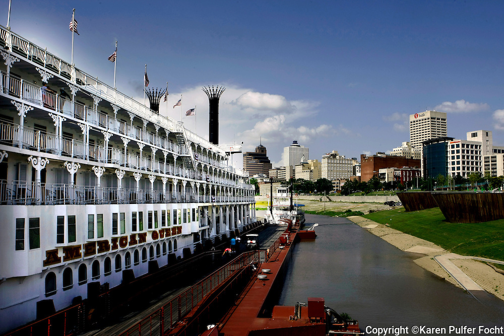 The Memphis based American Queen Steamboat Company hopes to increase the number of trips from Memphis to New Orleans due to high demand. It is said to be the largest steamboat ever built at 418 feet long, it is six stories high. It holds 436 passengers and will visit Memphis 12 times in 2015. The American Queen has a large economic impact in the Memphis area. Memphis Port.