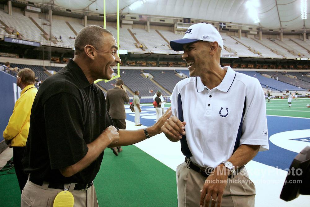 Herman Edwards and Tony Dungy