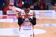 Marc Lyons<br /> VL Pesaro - Acqua S.Berdardo Cantù <br /> Campionato Serie A 2018-2019<br /> Pesaro 17/03/2019<br /> M.Ciaramicoli   Ciamillo-Castoria
