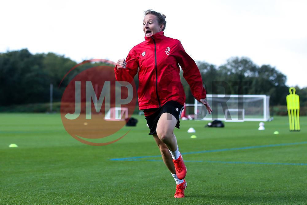 Frankie Brown of Bristol City Women during training at Failand - Mandatory by-line: Robbie Stephenson/JMP - 26/09/2019 - FOOTBALL - Failand Training Ground - Bristol, England - Bristol City Women Training