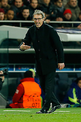 Paris Saint-Germain Manager Laurent Blanc - Photo mandatory by-line: Rogan Thomson/JMP - 07966 386802 - 17/02/2015 - SPORT - FOOTBALL - Paris, France - Parc des Princes - Paris Saint-Germain v Chelsea - UEFA Champions League, Last 16, First Leg.