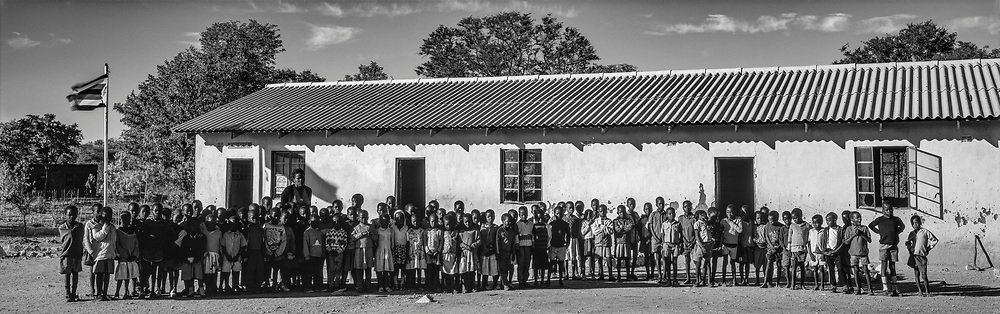 Matoba School Portrait, Matoba National Park, Zimbabwe, 1995