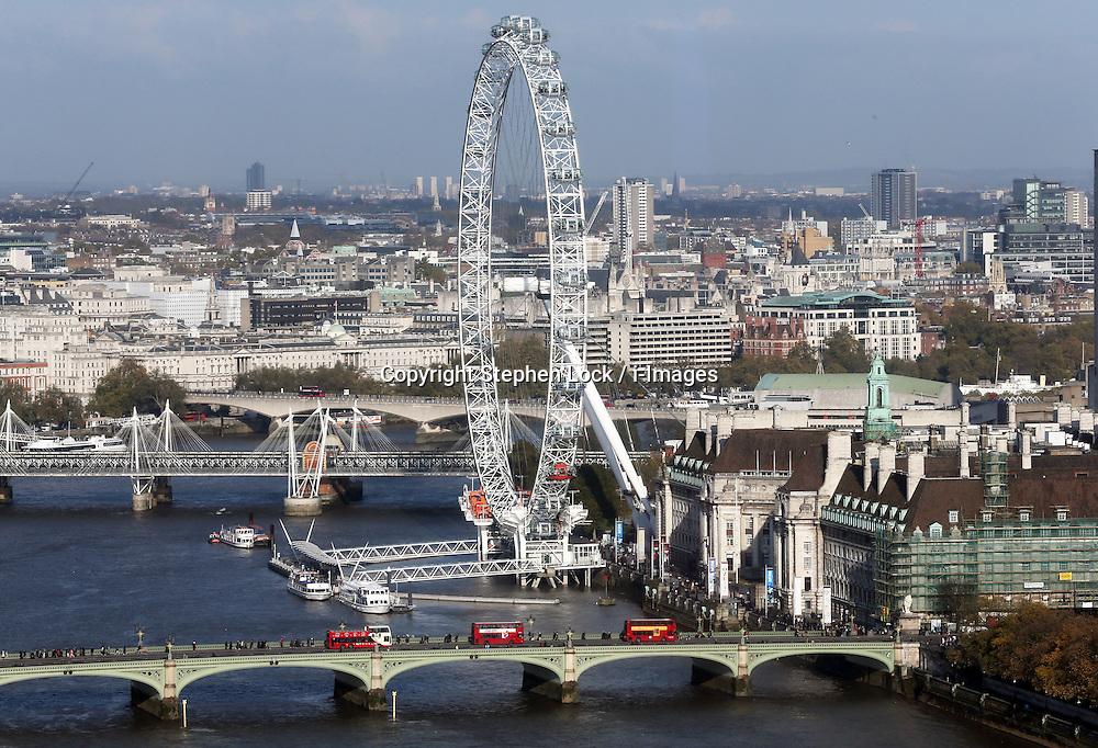 The London Eye, Thursday, 21st November 2103   Photo by: Stephen Lock / i-Images