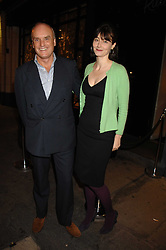 NICHOLAS and GEORGIA COLERIDGE at a party to celebrate the publication of  'The Return of the Sloane Ranger' held at Kitt's, Sloane Square, London on 15th October 2007.<br /><br />NON EXCLUSIVE - WORLD RIGHTS