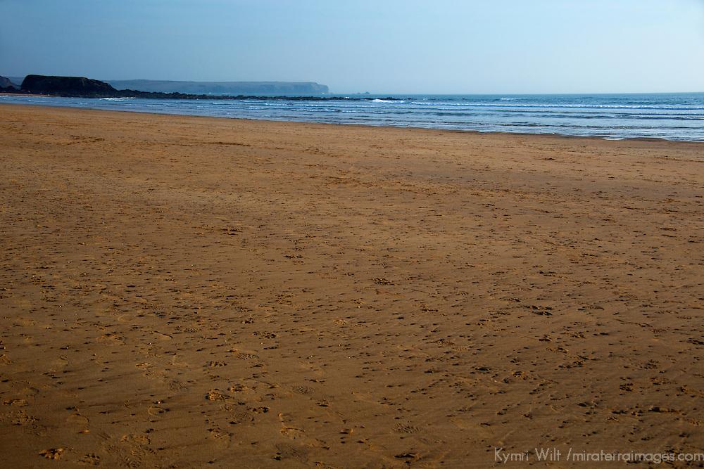 Europe, United Kingdom, Wales, Pembrokeshire. Freshwater West Beach in Pembrokeshire.