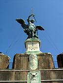 Rome, Mausoleum of Hadrian, Castel Sant'Angelo, 135-139 AD