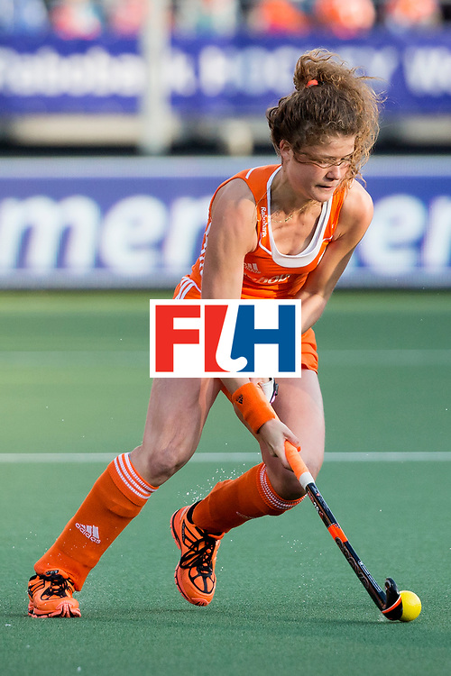 THE HAGUE - Rabobank Hockey World Cup 2014 - 2014-06-05 - WOMEN - New-Zealand - The Netherlands - Roos Drost<br /> Copyright: Willem Vernes