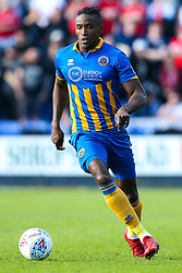 Omar Beckles of Shrewsbury Town - Mandatory by-line: Robbie Stephenson/JMP - 13/05/2018 - FOOTBALL - Montgomery Waters Meadow - Shrewsbury, England - Shrewsbury Town v Charlton Athletic - Sky Bet League One Play-Off Semi Final