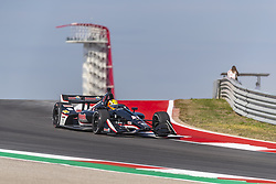 March 22, 2019 - Austin, Texas, U.S. - SPENCER PIGOT (21) of the United States goes through the turns during practice for the INDYCAR Classic at Circuit Of The Americas in Austin, Texas. (Credit Image: © Walter G Arce Sr Asp Inc/ASP)