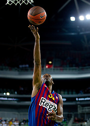 Pete Mickeal of FC Barcelona Regal during basketball match between KK Union Olimpija and FC Barcelona Regal of 1st Round in Group D of Regular season of Euroleague 2011/2012 on October 20, 2011, in Arena Stozice, Ljubljana, Slovenia. Barcelona defeated Union Olimpija 86-64. (Photo by Vid Ponikvar / Sportida)