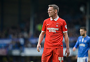 Leyton Orient Midfielder/Head Coach Kevin Nolan during the Sky Bet League 2 match between Portsmouth and Leyton Orient at Fratton Park, Portsmouth, England on 6 February 2016. Photo by Adam Rivers.