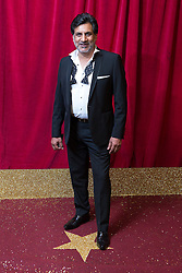 © Licensed to London News Pictures . 16/05/2015 .  The Palace Hotel , Manchester , UK . MARC ANWAR . The red carpet at the 2015 British Soap Awards , The Palace Hotel , Oxford Road , Manchester . Photo credit : Joel Goodman/LNP