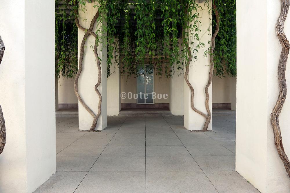 by the entrance to the museum of Centro Andaluciuz de Arte Contemporaneo Sevilla