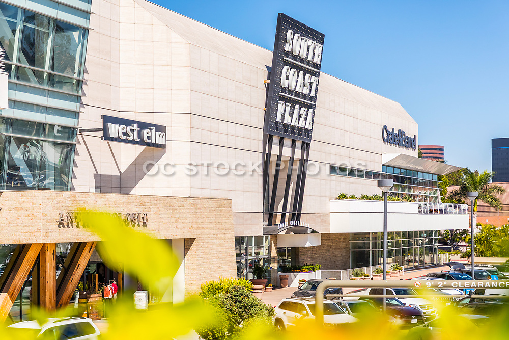 West Elm, Anthropologie and Crate & Barrel At South Coast Plaza