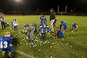 Members of Madison's youth football program were on hand to collect all of the golf balls after the drop.  October/22/10:  MCHS Varsity Football vs George Mason.  Madison wins 20-7.  Touchdowns by Rashad Bolden and Travis Warren in the first half off passes from Dustin Farmer.  Farmer scores on a quarterback keeper in the second half.