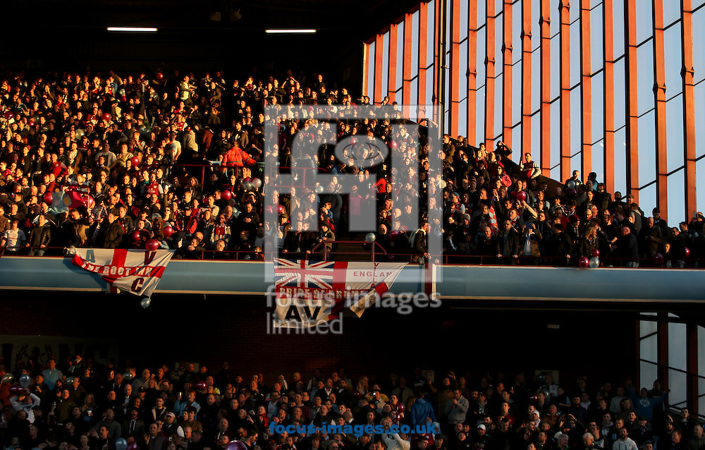 Aston Villa  fans during the FA Cup match at Villa Park, Birmingham<br /> Picture by Tom Smith/Focus Images Ltd 07545141164<br /> 07/03/2015