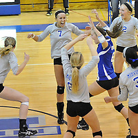 10.21.2010 Brunswick vs Midview Varsity Volleyball