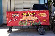 Sandwich kiosk in San Antonio del Sur, Guantanamo, Cuba.