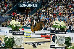 Alexander Edwina, (AUS), Caretina de Joter<br /> Longines FEI World Cup Jumping Final II<br /> © Dirk Caremans