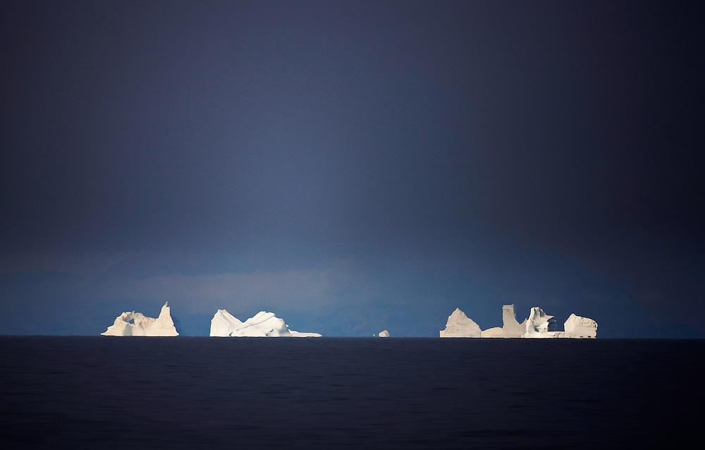 Icebergs, Ilulissat, Disko Bay, Greenland