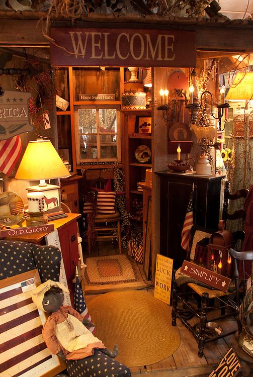 Antique Shop, Snohomish, Washington, US