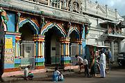 Hindu Kovil on Sea Street. Pettah. Colombo.