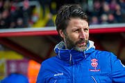Lincoln City Manager Danny Cowley during the EFL Sky Bet League 2 match between Lincoln City and Grimsby Town FC at Sincil Bank, Lincoln, United Kingdom on 17 March 2018. Picture by Craig Zadoroznyj.