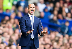 Everton Manager, Roberto Martinez   - Mandatory byline: Matt McNulty/JMP - 07966386802 - 12/09/2015 - FOOTBALL - Goodison Park -Everton,England - Everton v Chelsea - Barclays Premier League
