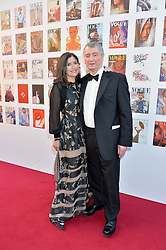 STEPHEN & KIMBERLEY QUINN at British Vogue's Centenary Gala Dinner in Kensington Gardens, London on 23rd May 2016.