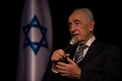 SDEROT, July 6, 2014  Israeli President Shimon Peres speaks at a news conference in Sderot, southern Israel, on July 6, 2014. Shimon Peres held a news conference in Sderot on Sunday and shared his remarks on the tense situation between Israel and the Palestinian territories. (Credit Image: © Li Rui/Xinhua/ZUMA Wire)