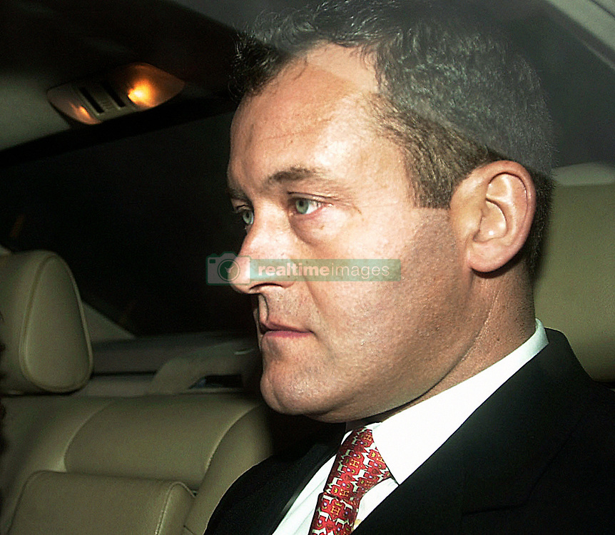 Paul Burrell, the butler to the late Princess of Wales, arrives at the Old Bailey in London where he is to stand trial accused of stealing hundreds of personal possessions from Diana, Prince William and the Prince of Wales.