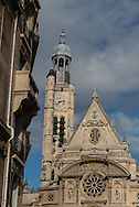 France. Paris. 5th district  Saint Etienne du Mont church