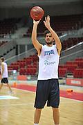 Danzica - Polonia 03 Agosto 2012 - Nazionale Italia Maschile Allenamento - <br /> Nella Foto :LUCA VITALI<br /> Foto Ciamillo