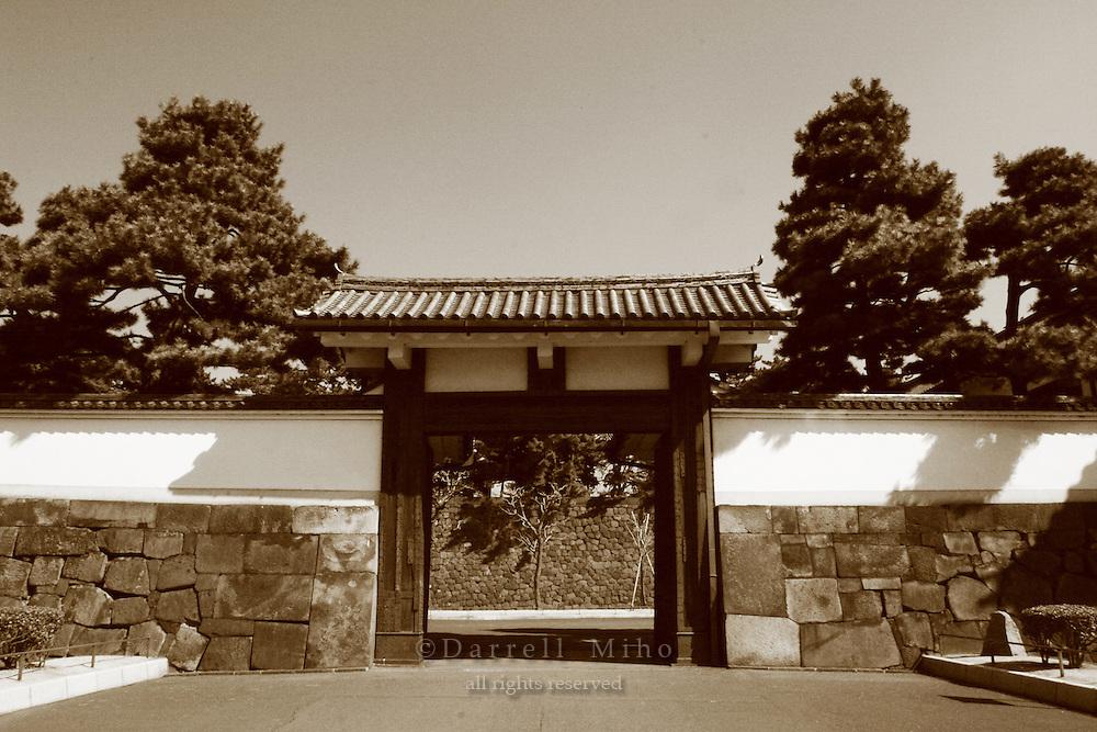 Mar 4, 2006; Tokyo, JPN; Imperial Palace.Sakurada-mon gate at the Imperial Palace...Photo credit: Darrell Miho
