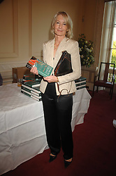 SANDRA HOWARD at a party to celebrate the publication of her book 'Ursula's Stor' held at The British Academy, 10 Carlton House Terace, London on 4th September 2007.<br />