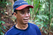 Nasir, an Iban guide in Ulu Temburong National Park, Brunei
