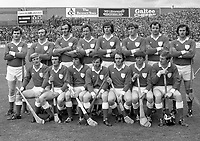 974-2<br /> Limerick Hurling Team. September 1974<br /> (Part of the Independent Newspapers Ireland/NLI collection.)