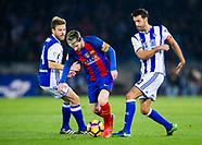 Real Sociedad de Futbol vs FC Barcelona