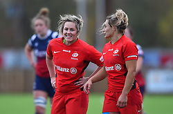 England forward Marlie Packer returns to Bristol with Saracens  - Mandatory by-line: Paul Knight/JMP - 03/11/2018 - RUGBY - Shaftesbury Park - Bristol, England - Bristol Bears Women v Saracens Women - Tyrrells Premier 15s